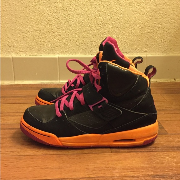 329eb837e2fe5 Jordan Shoes | Nike Air Flight 45 High Gs Fusion Citrus | Poshmark